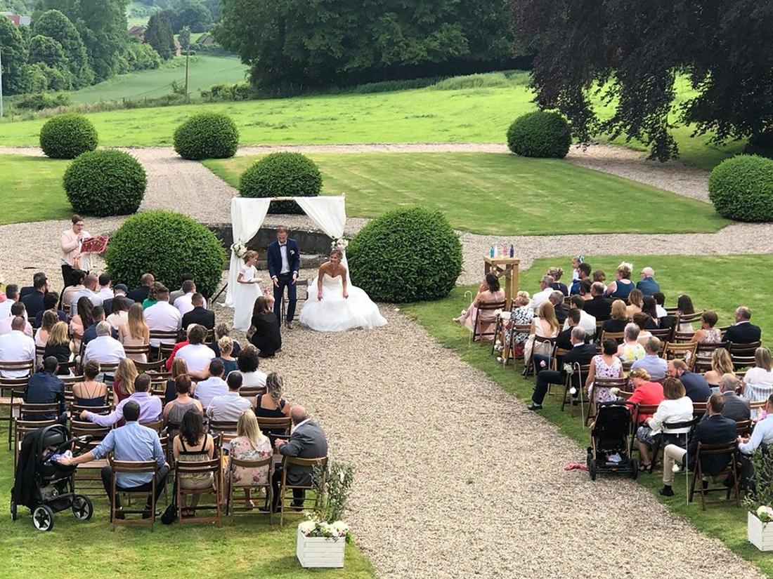 Mariage au Château de Vauchelles proche Lille